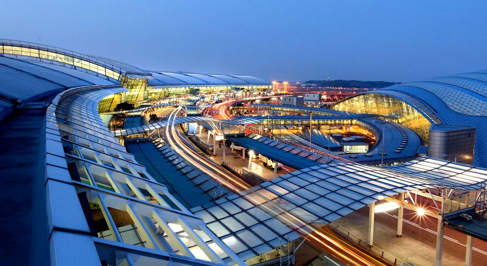 مطار انشون الدولي كوريا