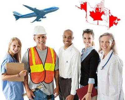 نتيجة الصورة للعمل في كندا